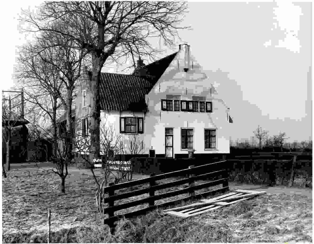 De Voscuyl in zijn tijd als boerderij