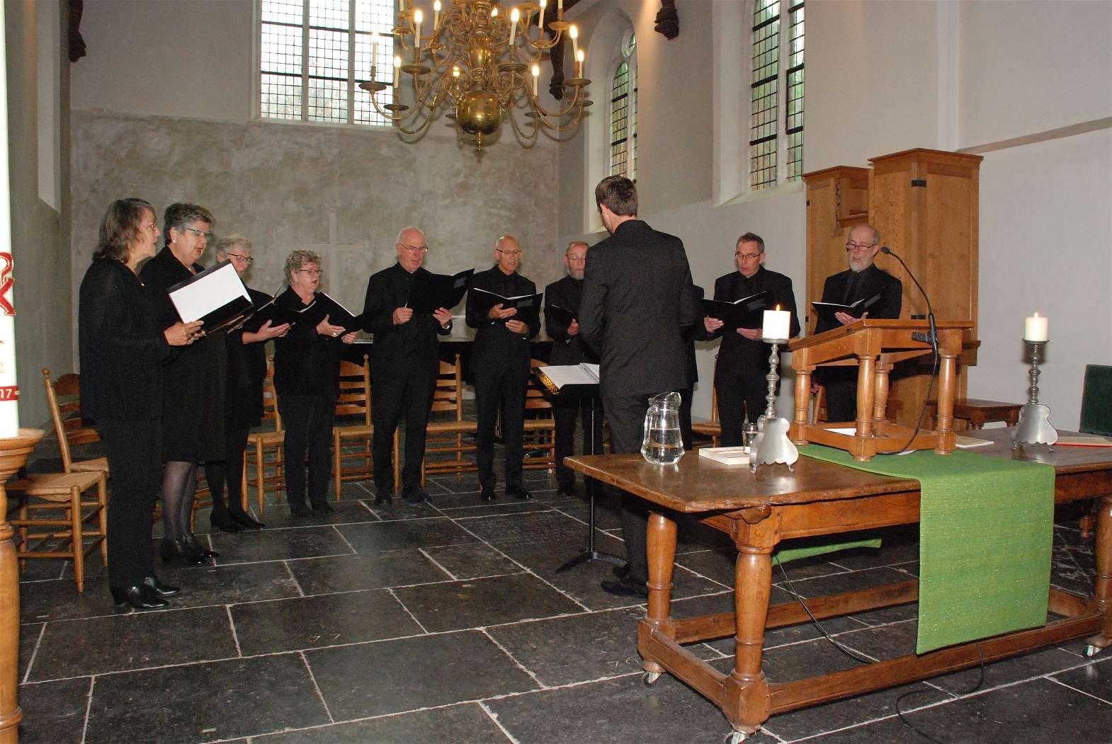 Het koor in het koor van de kerk
